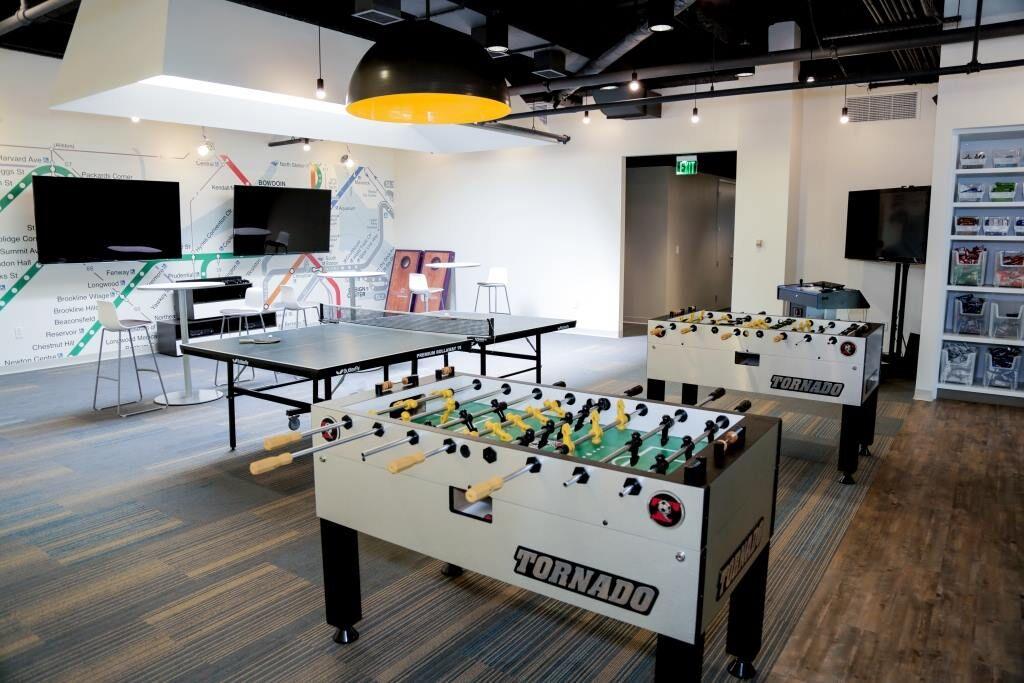 A sneak peek inside 4 of Boston tech's coolest offices