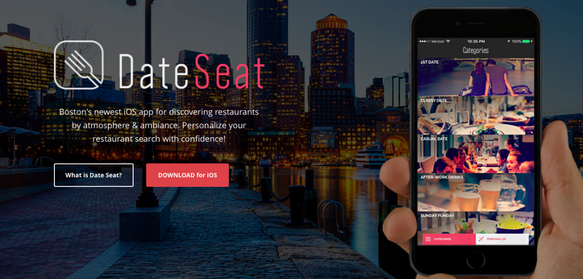 Don T Know Where To Take Your Date Boston Has An App For